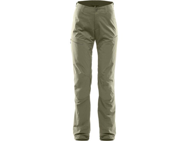 Haglöfs Lite Hybrid Pantalones Mujer, lichen